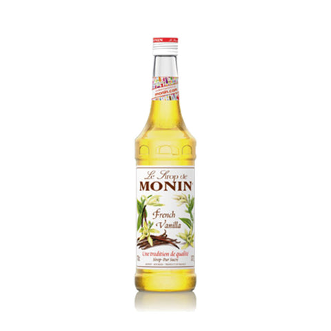 Monin French Vanilla -700ml Syrups - Drinkka Alcohol Delivery Best Whiskey Wine Gin Beer Vodkas and more for Parties in Makati BGC Fort and Manila | Bevtools Bar and Beverage Tools