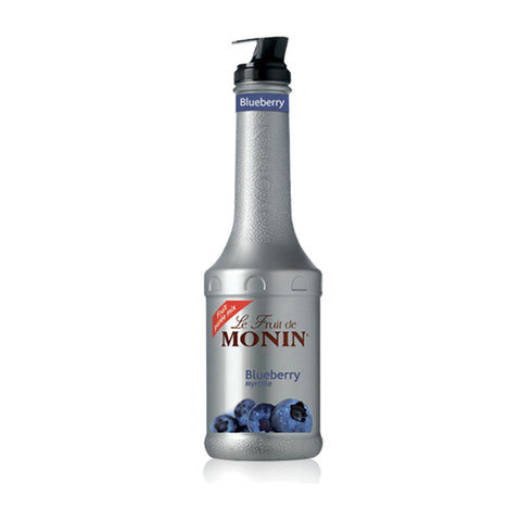 Monin Puree Blueberry -1000ml Liqueurs & Syrups - Bevtools Bar and Beverage Tools | Alcohol and Liquor Delivery Makati, Metro Manila, Philippines