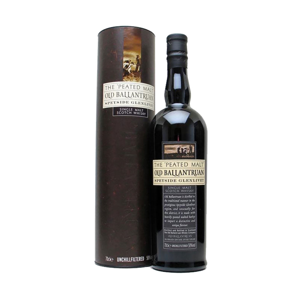 Old Ballantruan Peated Speyside -700ml Whiskey - Drinkka Alcohol Delivery Best Whiskey Wine Gin Beer Vodkas and more for Parties in Makati BGC Fort and Manila | Bevtools Bar and Beverage Tools