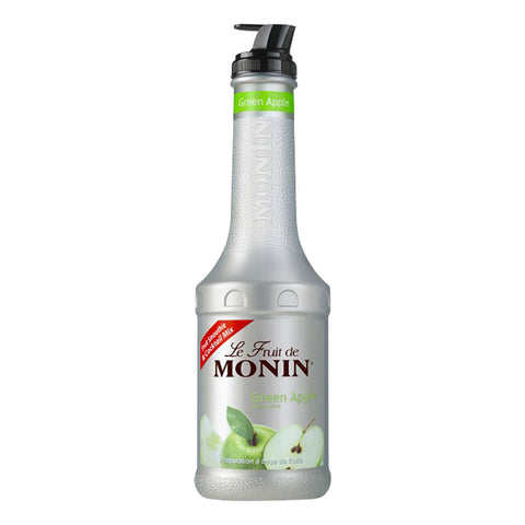 Monin Puree Green Apple -1000ml Syrups - Drinkka Alcohol Delivery Best Whiskey Wine Gin Beer Vodkas and more for Parties in Makati BGC Fort and Manila | Bevtools Bar and Beverage Tools