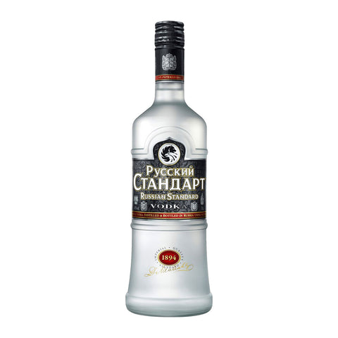 Russian Standard Original Vodka - 700ml Vodka - Drinkka Alcohol Delivery Best Whiskey Wine Gin Beer Vodkas and more for Parties in Makati BGC Fort and Manila | Bevtools Bar and Beverage Tools