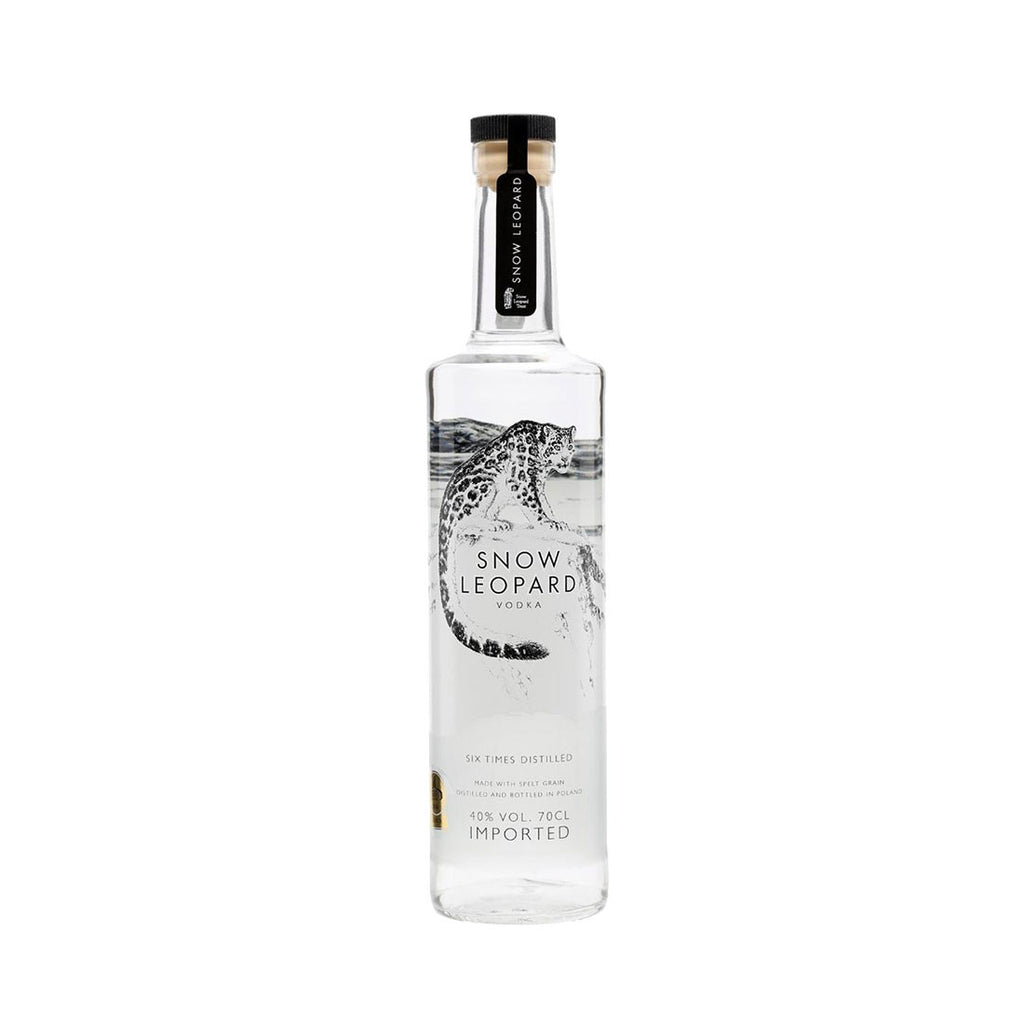 Snow Leopard Vodka -700ml Premium Vodka - Drinkka Alcohol Delivery Best Whiskey Wine Gin Beer Vodkas and more for Parties in Makati BGC Fort and Manila | Bevtools Bar and Beverage Tools