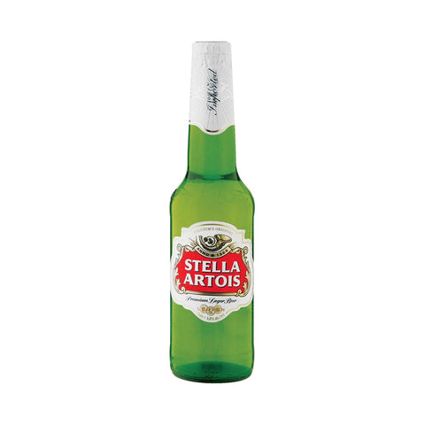 Stella Artois In Bottle - 330ml Imported Beer - Drinkka Alcohol Delivery Best Whiskey Wine Gin Beer Vodkas and more for Parties in Makati BGC Fort and Manila | Bevtools Bar and Beverage Tools