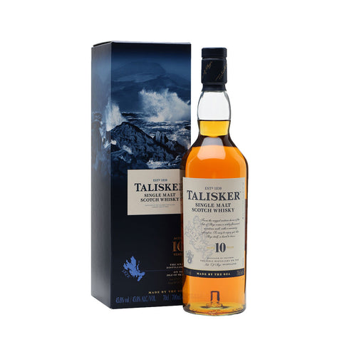 Talisker Single Malt Scotch Whisky 10 Years -700ml Whiskey - Drinkka Alcohol Delivery Best Whiskey Wine Gin Beer Vodkas and more for Parties in Makati BGC Fort and Manila | Bevtools Bar and Beverage Tools