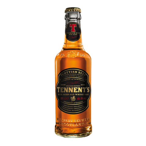 Tennent's Scottish Beer Aged with Whisky Oak 330ml (Pack of 4) Imported Craft Beer - Drinkka Alcohol Delivery Best Whiskey Wine Gin Beer Vodkas and more for Parties in Makati BGC Fort and Manila | Bevtools Bar and Beverage Tools