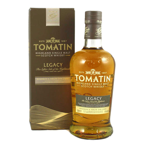 Tomatin Legacy -700ml Whiskey - Bevtools Bar and Beverage Tools | Alcohol and Liquor Delivery Makati, Metro Manila, Philippines