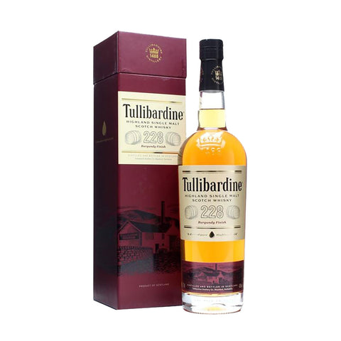 Tullibardine 228 Burgundy -700ml Whiskey - Drinkka Alcohol Delivery Best Whiskey Wine Gin Beer Vodkas and more for Parties in Makati BGC Fort and Manila | Bevtools Bar and Beverage Tools