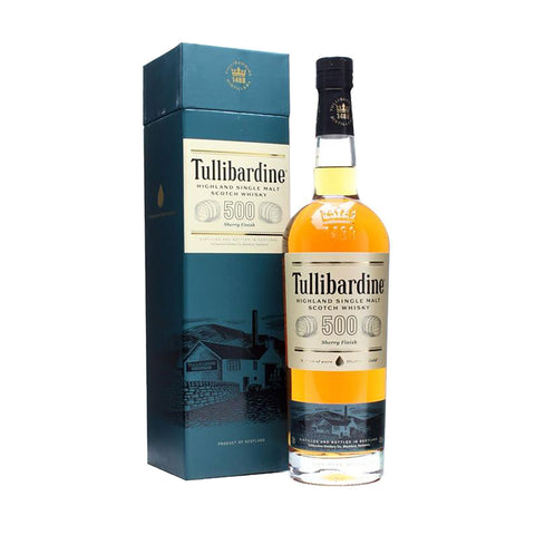 Tullibardine 500 Sherry Finish -700ml Whiskey - Drinkka Alcohol Delivery Best Whiskey Wine Gin Beer Vodkas and more for Parties in Makati BGC Fort and Manila | Bevtools Bar and Beverage Tools