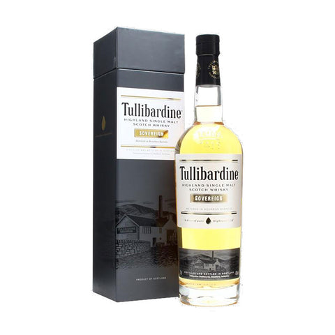 Tullibardine Sovereign -700ml Whiskey - Drinkka Alcohol Delivery Best Whiskey Wine Gin Beer Vodkas and more for Parties in Makati BGC Fort and Manila | Bevtools Bar and Beverage Tools