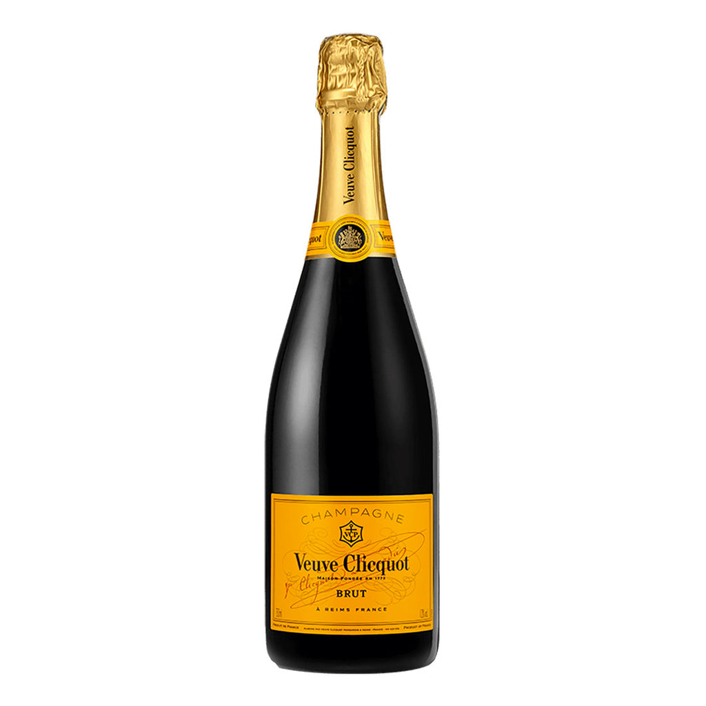 Veuve Cliquot Brut - 750ml Champagne - Drinkka Alcohol Delivery Best Whiskey Wine Gin Beer Vodkas and more for Parties in Makati BGC Fort and Manila | Bevtools Bar and Beverage Tools