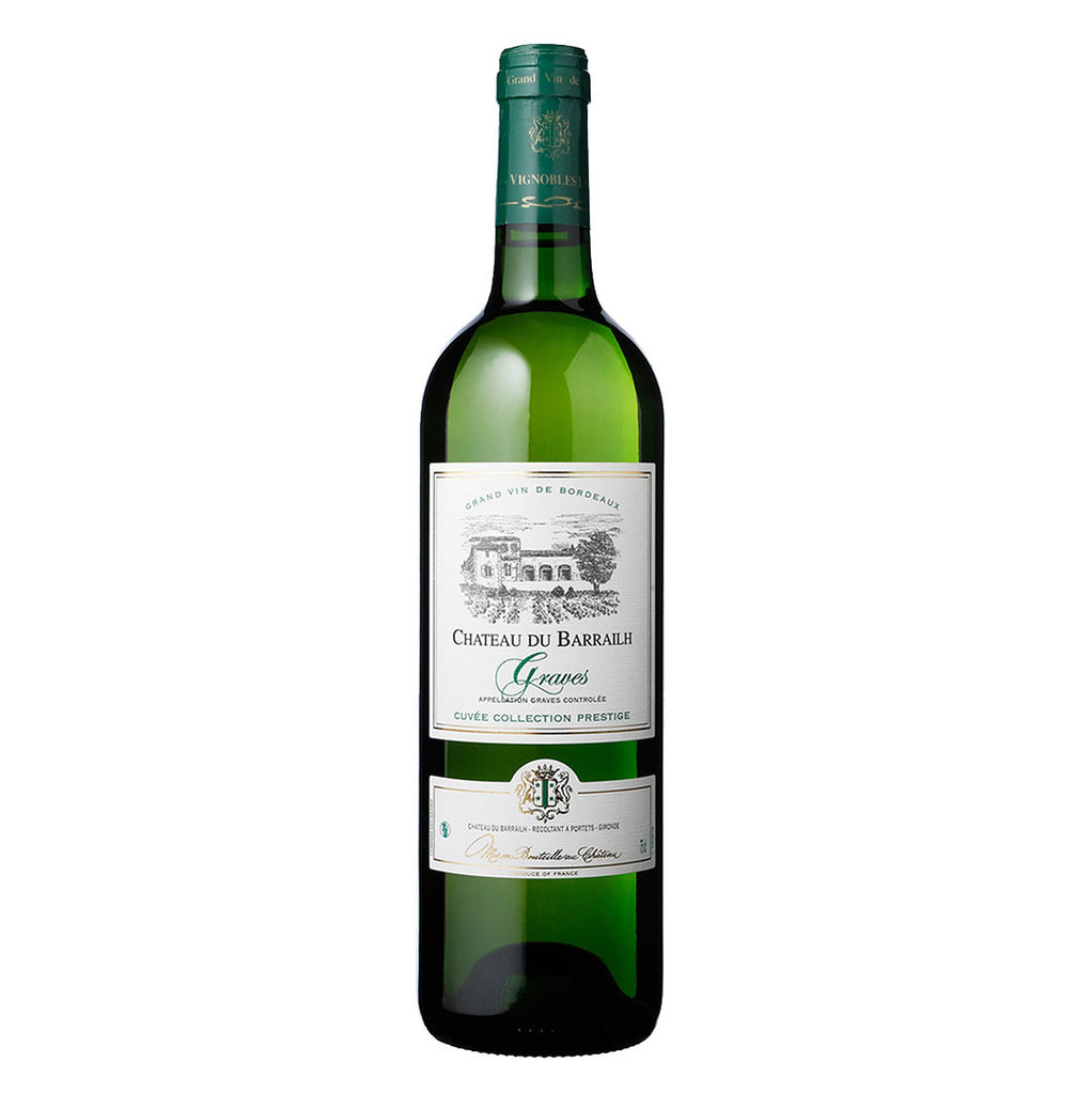 Chateau Du Barrailh, White -750ml White Wine - Drinkka Alcohol Delivery Best Whiskey Wine Gin Beer Vodkas and more for Parties in Makati BGC Fort and Manila | Bevtools Bar and Beverage Tools