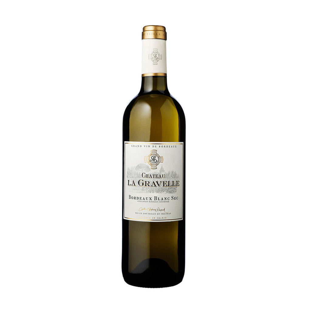 Chateau La Gravelle, White -750ml White Wine - Drinkka Alcohol Delivery Best Whiskey Wine Gin Beer Vodkas and more for Parties in Makati BGC Fort and Manila | Bevtools Bar and Beverage Tools