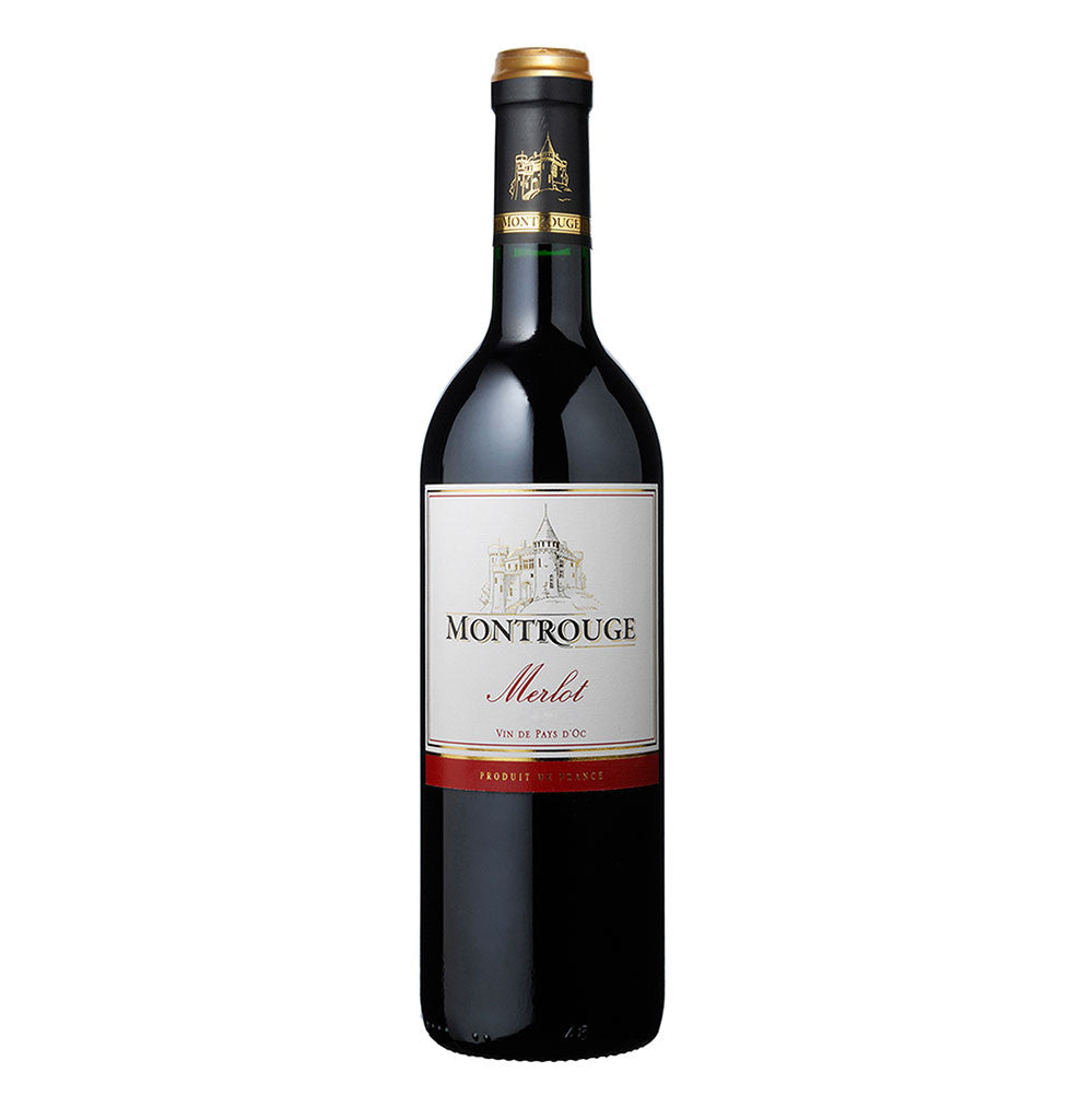 Montrouge Merlot -750ml Red Wine - Drinkka Alcohol Delivery Best Whiskey Wine Gin Beer Vodkas and more for Parties in Makati BGC Fort and Manila | Bevtools Bar and Beverage Tools
