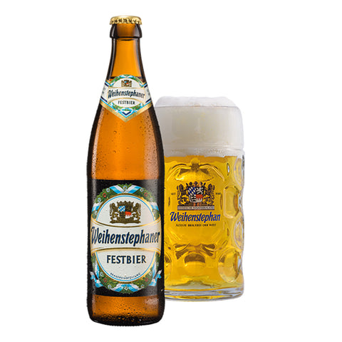 WEIHENSTEPHAN Festbier - 500ml Imported Craft Beer - Drinkka Alcohol Delivery Best Whiskey Wine Gin Beer Vodkas and more for Parties in Makati BGC Fort and Manila | Bevtools Bar and Beverage Tools