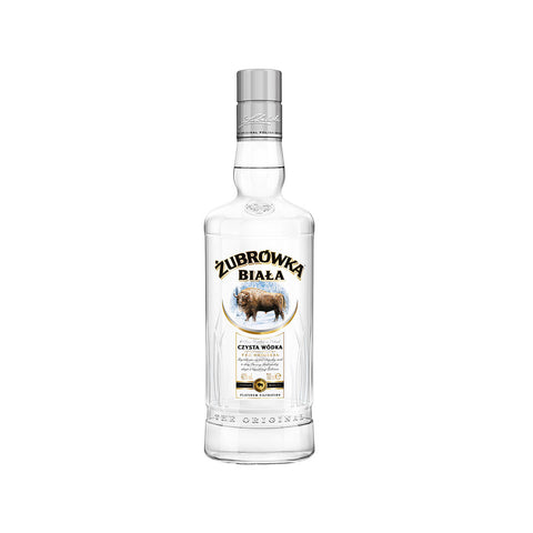 Zubrowka Biala Vodka -700ml Vodka - Drinkka Alcohol Delivery Best Whiskey Wine Gin Beer Vodkas and more for Parties in Makati BGC Fort and Manila | Bevtools Bar and Beverage Tools