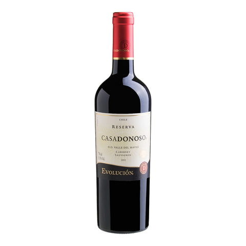 Casa Donoso Evolucion Reserva Cabernet Sauvignon 2016 - 750ml Red Wine - Drinkka Alcohol Delivery Best Whiskey Wine Gin Beer Vodkas and more for Parties in Makati BGC Fort and Manila | Bevtools Bar and Beverage Tools
