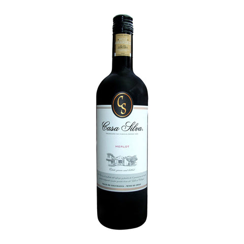 Casa Silva Merlot - 750ml Red Wine - Drinkka Alcohol Delivery Best Whiskey Wine Gin Beer Vodkas and more for Parties in Makati BGC Fort and Manila | Bevtools Bar and Beverage Tools