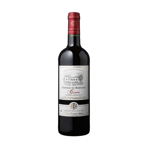 Chateau du Barrailh Graves AOC (Red) - 750ml Wine - Bevtools Bar and Beverage Tools | Alcohol and Liquor Delivery Makati, Metro Manila, Philippines