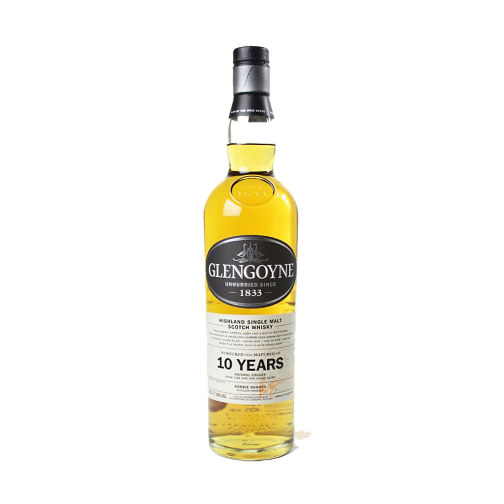 Glengoyne Single Malt Scotch Whisky 10 Years - 700ml Whiskey - Drinkka Alcohol Delivery Best Whiskey Wine Gin Beer Vodkas and more for Parties in Makati BGC Fort and Manila | Bevtools Bar and Beverage Tools