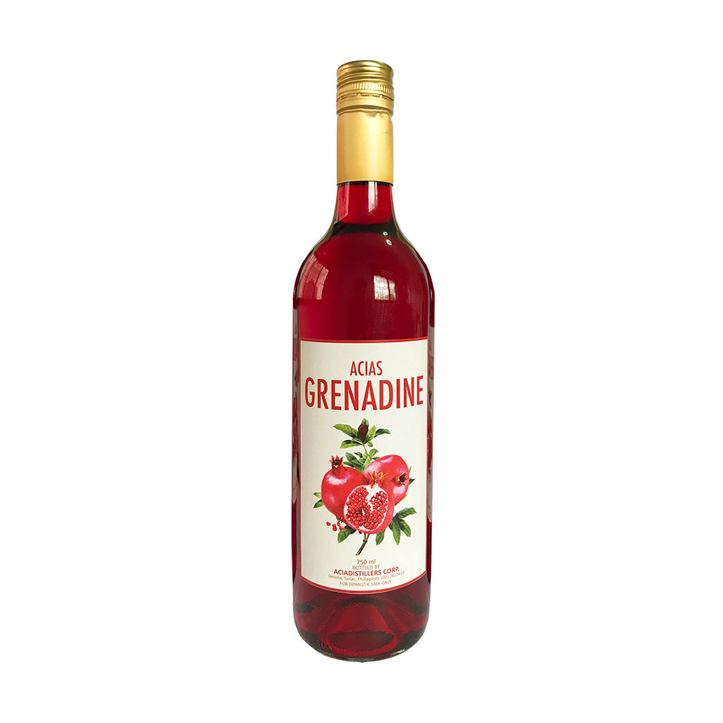 Acias Grenadine - 750ml Syrups - Drinkka Alcohol Delivery Best Whiskey Wine Gin Beer Vodkas and more for Parties in Makati BGC Fort and Manila | Bevtools Bar and Beverage Tools