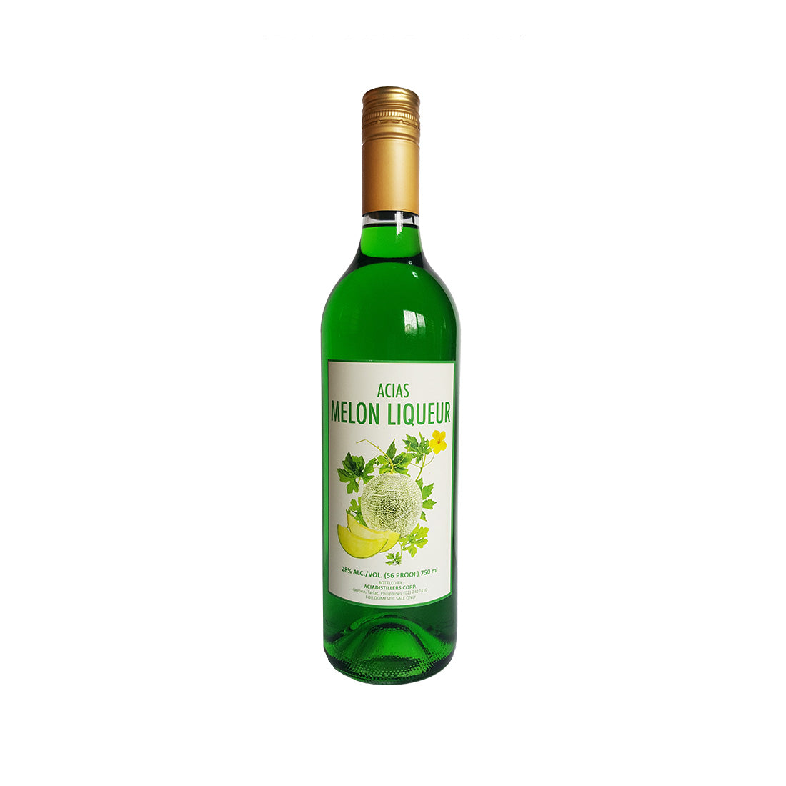Acias Melon Liqueur - 750ml Berry Liqueur - Drinkka Alcohol Delivery Best Whiskey Wine Gin Beer Vodkas and more for Parties in Makati BGC Fort and Manila | Bevtools Bar and Beverage Tools