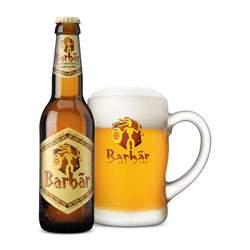 Barbar Blonde Belgian Beer - 330ml (2 bottles)