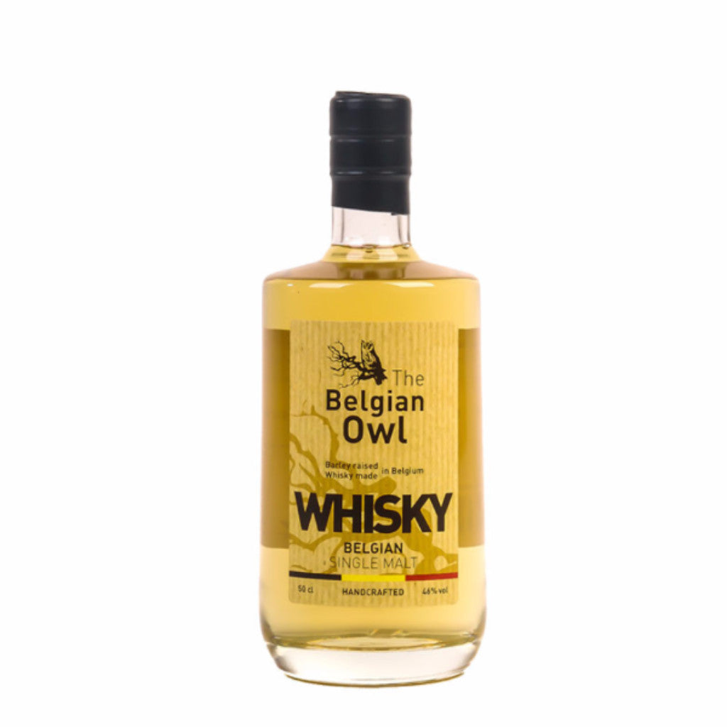 Belgian Owl Single Malt Whisky - 500ml Whiskey - Drinkka Alcohol Delivery Best Whiskey Wine Gin Beer Vodkas and more for Parties in Makati BGC Fort and Manila | Bevtools Bar and Beverage Tools