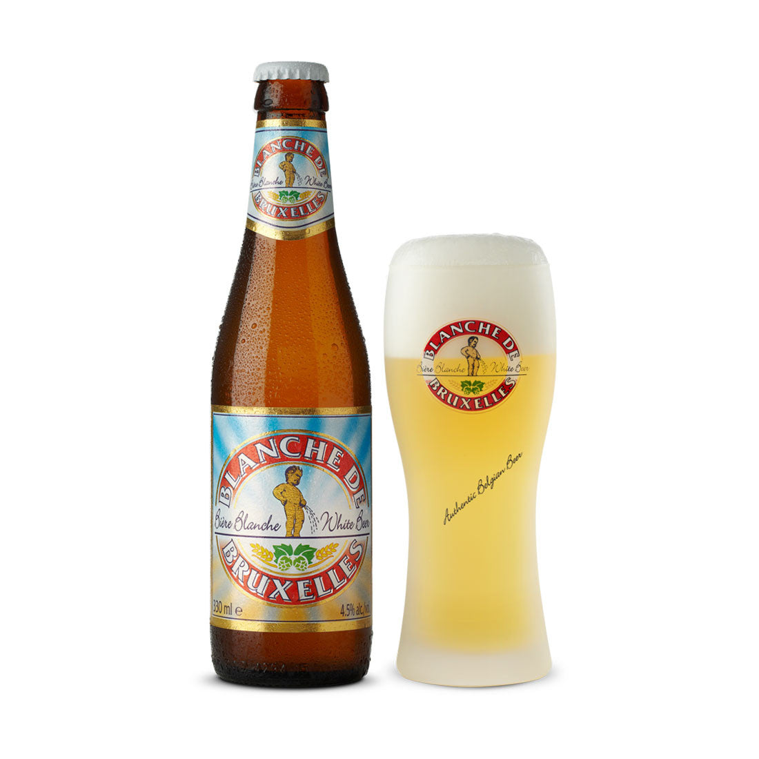 Blanche de Bruxelles Belgian Beer- 330ml Imported Craft Beer - Drinkka Alcohol Delivery Best Whiskey Wine Gin Beer Vodkas and more for Parties in Makati BGC Fort and Manila | Bevtools Bar and Beverage Tools