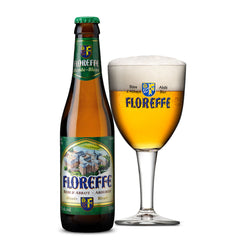 Floreffe Blonde Belgian Beer - 330ml (2 bottles)