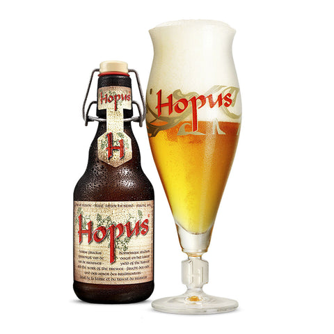 Hopus Belgian Beer - 330ml Imported Craft Beer - Drinkka Alcohol Delivery Best Whiskey Wine Gin Beer Vodkas and more for Parties in Makati BGC Fort and Manila | Bevtools Bar and Beverage Tools