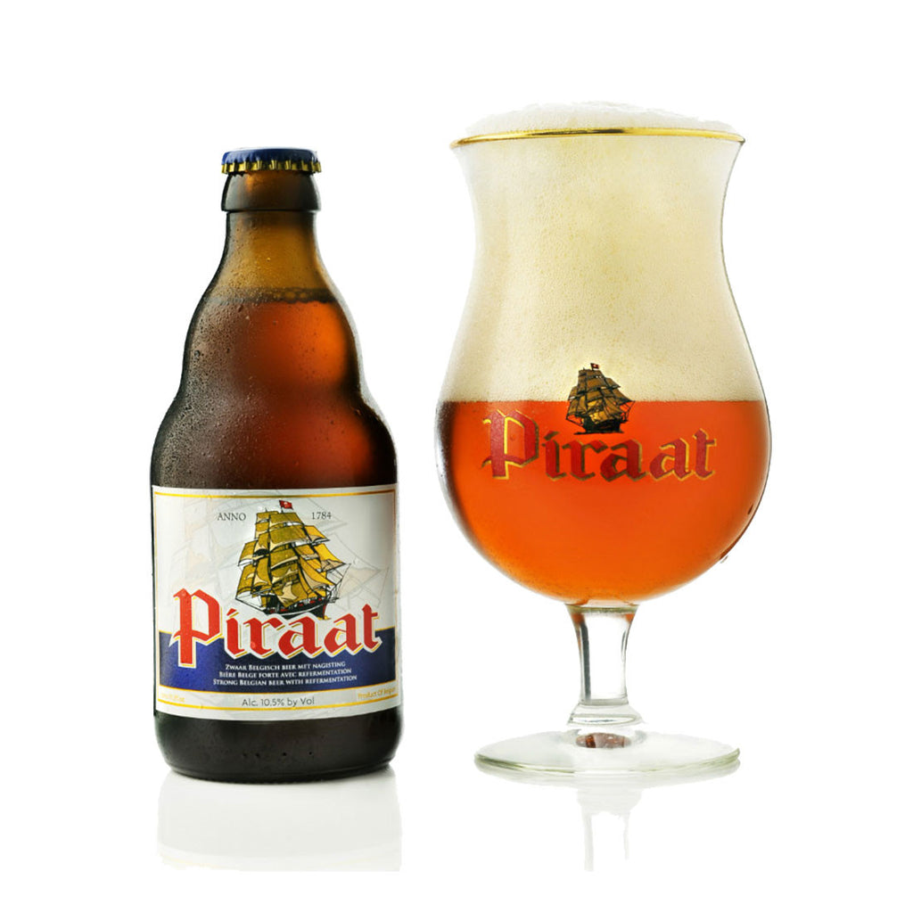 Piraat Belgian Beer - 330ml Imported Craft Beer - Drinkka Alcohol Delivery Best Whiskey Wine Gin Beer Vodkas and more for Parties in Makati BGC Fort and Manila | Bevtools Bar and Beverage Tools