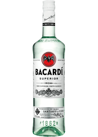 Bacardi Superior White Rum - 750ml