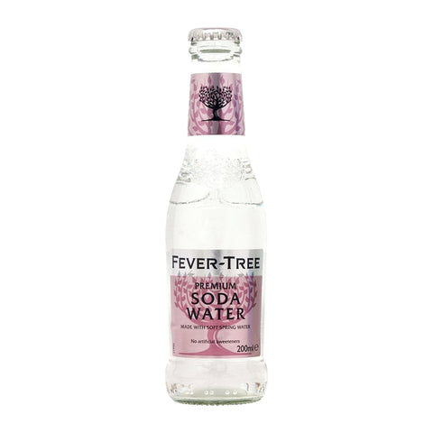 Fever Tree Soda Water Pack of 4  - 200ml