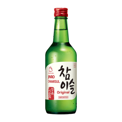 Jinro Chamisul Soju Pack of 4 - 360ml