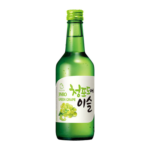 Jinro Chamisul Green Grape Pack of 4 - 360ml