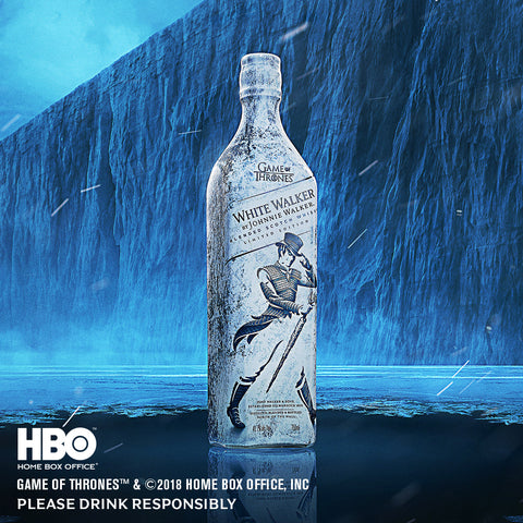 FOR PRE-ORDER ONLY: White Walker by Johnnie Walker Limited Edition 700ml (Estimated arrival: mid-December)