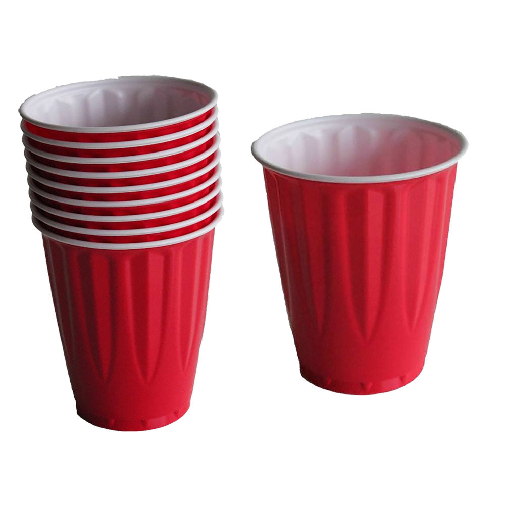 Big Red Cups 18oz-Pack of 10