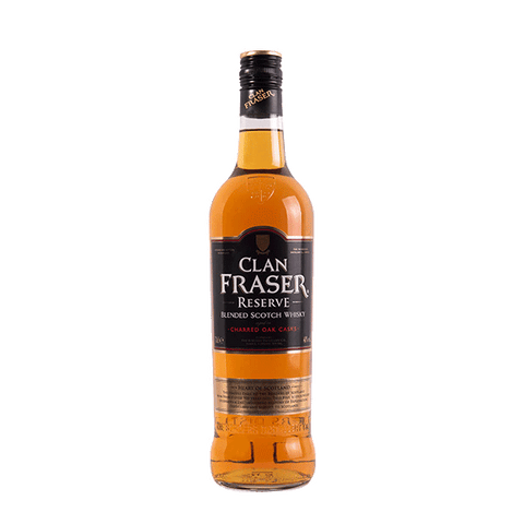 Clan Fraser Reserve Blended Scotch Whisky - 700ml