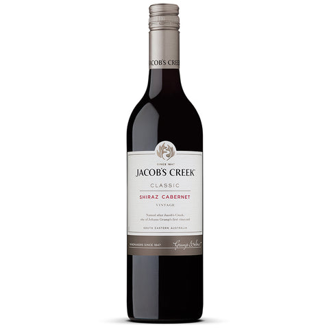 Jacob's Creek Shiraz Cabernet 750ml Red Wine - Drinkka Alcohol Delivery Best Whiskey Wine Gin Beer Vodkas and more for Parties in Makati BGC Fort and Manila | Bevtools Bar and Beverage Tools
