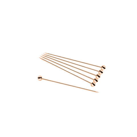 Cocktail Picks (12 pack)- Copper - Bevtools Bar Tools and Alcohol Delivery
