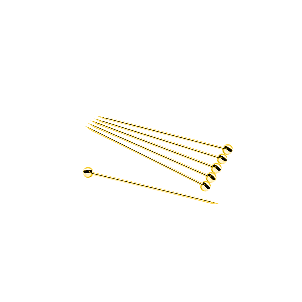 Cocktail Picks (12 pack)- Gold Bar Tools & Accessories - Drinkka Alcohol Delivery Best Whiskey Wine Gin Beer Vodkas and more for Parties in Makati BGC Fort and Manila | Bevtools Bar and Beverage Tools
