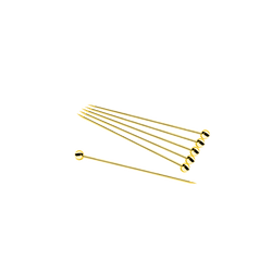 Cocktail Picks (12 pack)- Gold Bar Accessories - Bevtools Bar and Beverage Tools | Alcohol and Liquor Delivery Makati, Metro Manila, Philippines