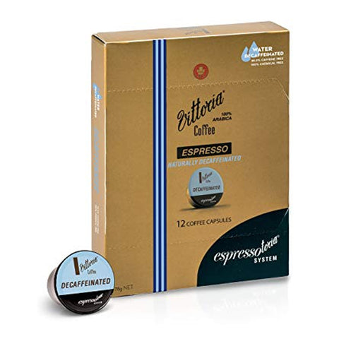 Vittoria Decaf Capsule (Box of 12)