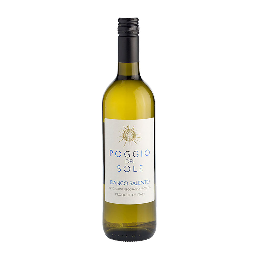Cantine San Marzano Poggio del Sole Bianco White Wine - 750ml White Wine - Drinkka Alcohol Delivery Best Whiskey Wine Gin Beer Vodkas and more for Parties in Makati BGC Fort and Manila | Bevtools Bar and Beverage Tools