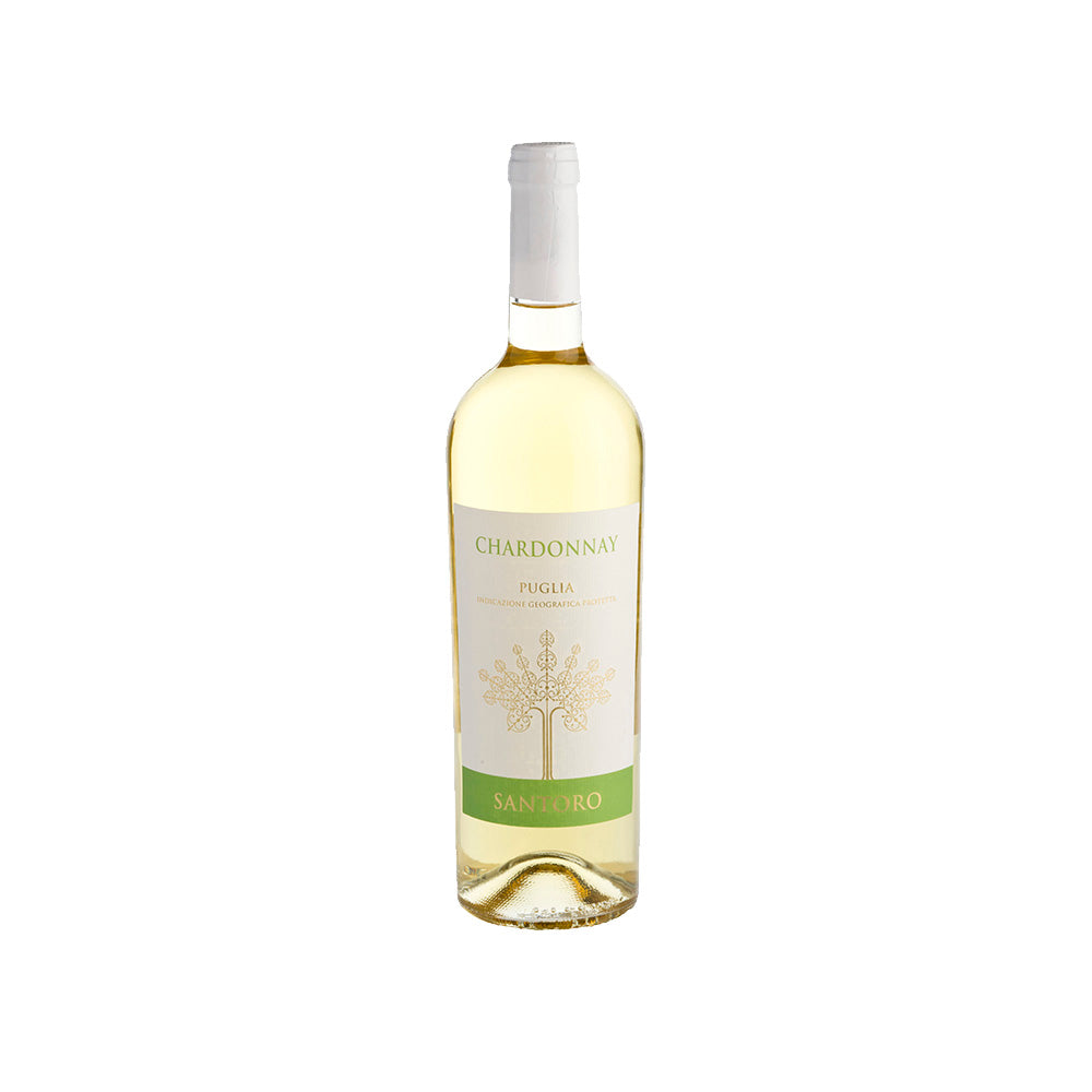 Cantine San Marzano Santoro Chardonnay White Wine - 750ml White Wine - Drinkka Alcohol Delivery Best Whiskey Wine Gin Beer Vodkas and more for Parties in Makati BGC Fort and Manila | Bevtools Bar and Beverage Tools