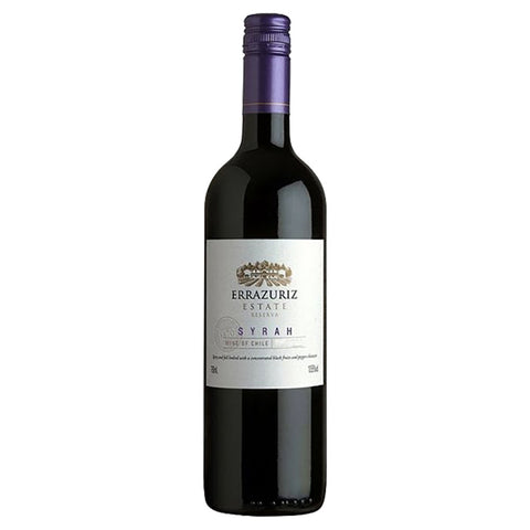 Errazuriz Syrah Estate Series 2015 - 750ml Red Wine - Drinkka Alcohol Delivery Best Whiskey Wine Gin Beer Vodkas and more for Parties in Makati BGC Fort and Manila | Bevtools Bar and Beverage Tools