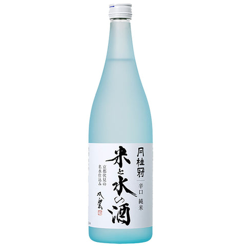 Gekkeikan Kome to Mizu no Sake Junmai Shu - 720ml Sake - Drinkka Alcohol Delivery Best Whiskey Wine Gin Beer Vodkas and more for Parties in Makati BGC Fort and Manila | Bevtools Bar and Beverage Tools