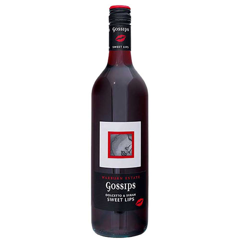 Gossips Sweet Lips Dolcetto & Syrah 2017 - 750ml Dessert Wine - Drinkka Alcohol Delivery Best Whiskey Wine Gin Beer Vodkas and more for Parties in Makati BGC Fort and Manila | Bevtools Bar and Beverage Tools