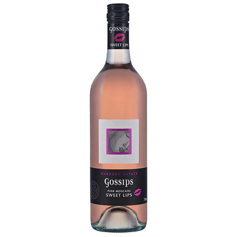 Gossips Sweet Lips Pink Moscato 2017 - 750ml Dessert Wine - Drinkka Alcohol Delivery Best Whiskey Wine Gin Beer Vodkas and more for Parties in Makati BGC Fort and Manila | Bevtools Bar and Beverage Tools