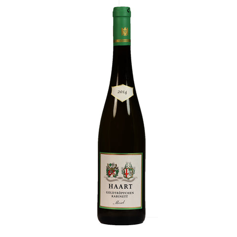 Haart Goldtropfchen Kabinett 2014 - 750ml Dessert Wine - Drinkka Alcohol Delivery Best Whiskey Wine Gin Beer Vodkas and more for Parties in Makati BGC Fort and Manila | Bevtools Bar and Beverage Tools